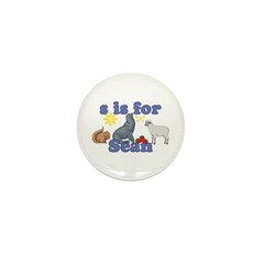S is for Sean Mini Button (100 pack)