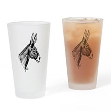 Donkey Drinking Glass