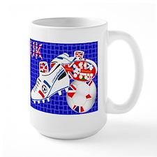 United Kingdom union jack style Mug