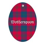 Tartan - Wotherspoon Ornament (Oval)