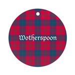 Tartan - Wotherspoon Ornament (Round)