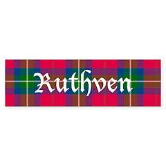 Tartan - Ruthven Bumper Sticker