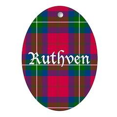 Tartan - Ruthven Ornament (Oval)