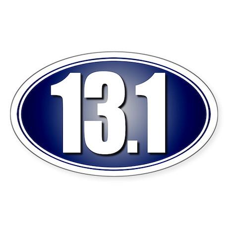 13.1 Half-Marathon Sticker