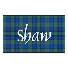 Tartan - Shaw Decal