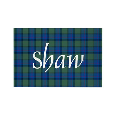 Tartan - Shaw Rectangle Magnet
