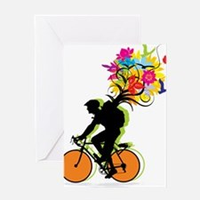 biker Greeting Card