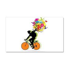 biker Car Magnet 20 x 12