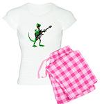 Electric Guitar Gecko Women's Light Pajamas