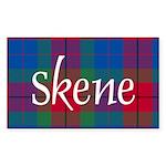 Tartan - Skene Sticker (Rectangle 50 pk)