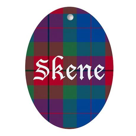 Tartan - Skene Ornament (Oval)