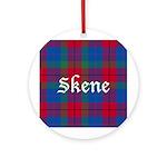 Tartan - Skene Ornament (Round)