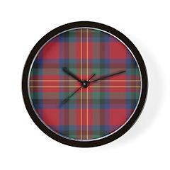 Tartan - Sturrock Wall Clock