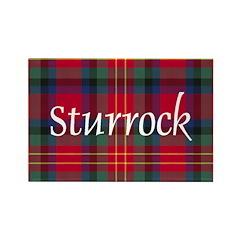 Tartan - Sturrock Rectangle Magnet (10 pack)