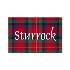 Tartan - Sturrock Rectangle Magnet (100 pack)