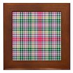 Tartan - Waggrall Framed Tile