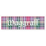 Tartan - Waggrall Sticker (Bumper 50 pk)