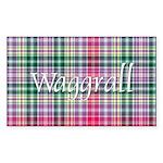 Tartan - Waggrall Sticker (Rectangle 10 pk)