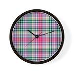 Tartan - Waggrall Wall Clock