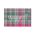 Tartan - Waggrall Rectangle Magnet