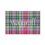 Tartan - Waggrall Rectangle Magnet (100 pack)