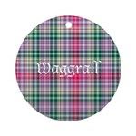 Tartan - Waggrall Ornament (Round)