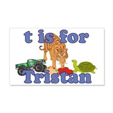 T is for Tristan 22x14 Wall Peel