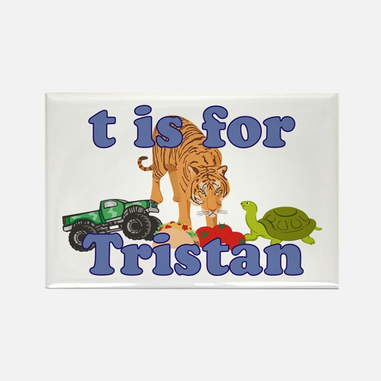 T is for Tristan Rectangle Magnet
