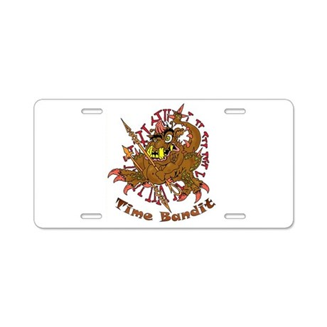 TIME BANDIT Aluminum License Plate