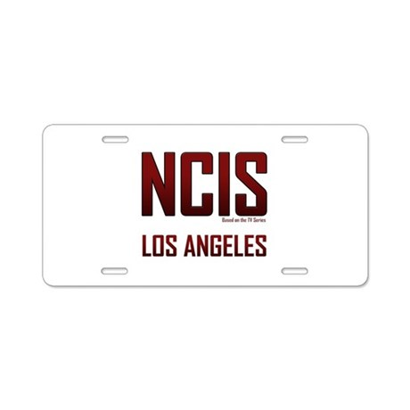NCIS Los Angeles Aluminum License Plate