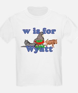W is for Wyatt T-Shirt