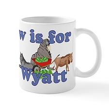W is for Wyatt Mug
