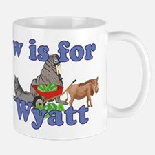 W is for Wyatt Small Small Mug