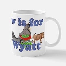 W is for Wyatt Small Small Mug