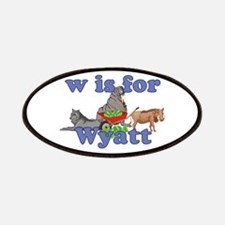 W is for Wyatt Patches