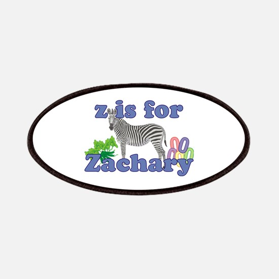 Z is for Zachary Patches