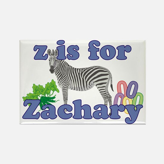 Z is for Zachary Rectangle Magnet