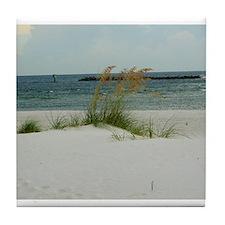 Panama City Beach Tile Coaster