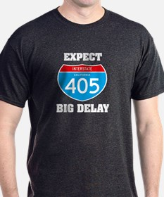 405 expect big delay T-Shirt
