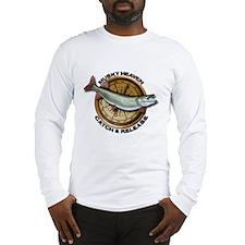 Long Sleeve Muskie Musky T-Shirt
