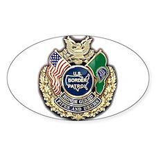Border Patrol Honor Guard Decal