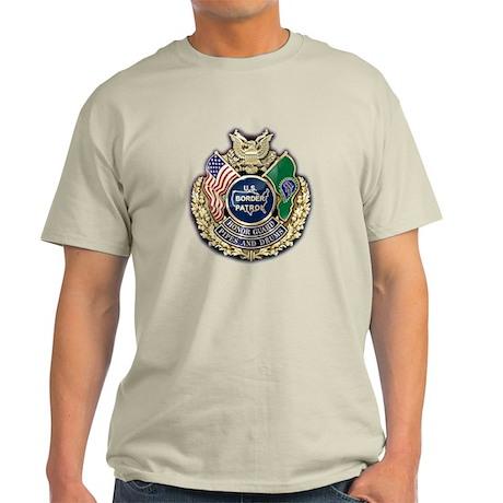 Border Patrol Honor Guard Light T-Shirt