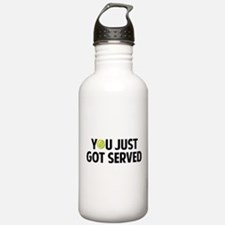 You just got served-Tennis Water Bottle