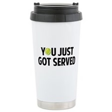 You just got served-Tennis Travel Mug
