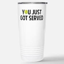 You just got served-Tennis Travel Mug