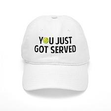 You just got served-Tennis Baseball Cap
