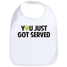 You just got served-Tennis Bib