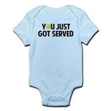 You just got served-Tennis Onesie