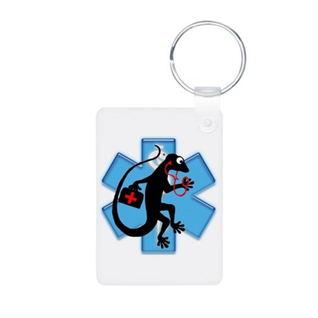Gecko EMT Aluminum Photo Keychain