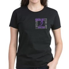 I Wear Violet 46 Hodgkin's Lymphoma Tee